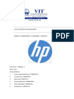 Case Study on Supply Chain Management at Hp