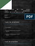 23. El Derecho de Las Cosas, Tipos de Dominio [6JUN].