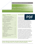 Implementation Guide Patient Centered Interactions
