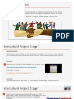 Intercultural Project Stage 1(2)