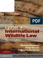 115.Lyster's International Wildlife Law - Michael Bowman, Peter Davies, Catherine Redgwell.pdf