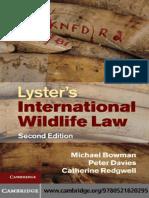 115.Lyster's International Wildlife Law - Michael Bowman, Peter Davies, Catherine Redgwell.pdf