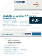 Acic Presentation - Middle Market Lending Overview and Update 7