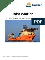 Toisa Warrior
