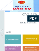 Civil Law- Inheritance