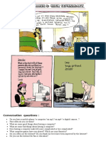 HANDY THEMATIC COLLECTION of Cartoons, Vocabulary, Conversation Questions and Essay Topics Part 5 - HIGH TECHNOLOGY