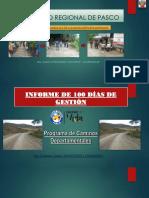 100 Dias de Gestion Pcd