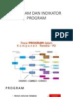 9. Program Dan Indikator Program - Permendagri 86 Th 2017