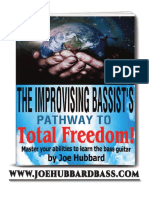Improvising Bassists Pathway Total Freedom