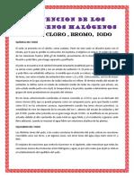 OBTENCION DE LOS HALOGENOS HALÓGENOS.docx