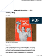 Your Key to Broad Shoulders - Bill Pearl (1965)