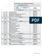 raspored predavanja