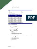 Cálculo de Caudales-Método Racional