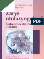 Zarys Otolaryngologii - Kręcicka-Kręcicki