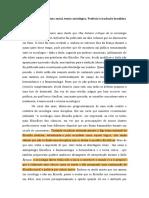 VANDENBERGHE, Frédéric. Prefácio à Edição Brasileira_ Metateoria