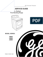 GE Range JB905-988 Service Manual