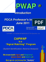 CAPWAP SIGNAL MATCHING PROGRAM