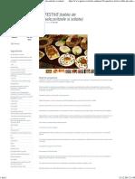 10 APERITIVE FESTIVE (Tabla de Sah,Tartine Vesele,Snitzele Si Salate)