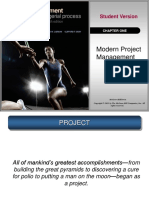 Project Management Chapter One