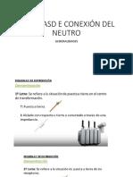 Sistemasd e Conexión Del Neutro - Generalidades