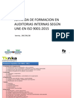 Auditorias Internas Segun ISO 9001-2015