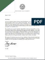 Abbott Letter