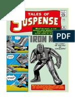 Marvel Gold. Iron Man 1