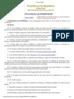 Decreto Nº 6029 - Sistema de Gestão Da Ética Do Poder Executivo Federal,