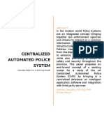 Central Automated Police System Concept Paper