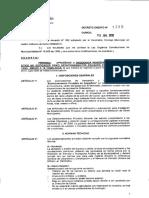 Decreto 1235 - Estacionamientos Privados