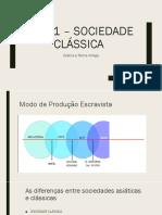 Aula 1 – Sociedade Clássica Enem