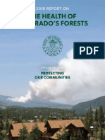 The Health of Colorado's Forests
