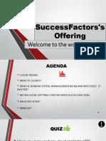 SuccessFactors Offerings