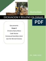 Excavacion en Zanjas
