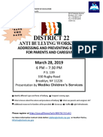District 22. New Bullying Flyer Docx (1)