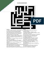 Electricity Crossword