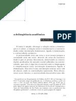 A Delinquência Acadêmica - Maurício Tragtenberg