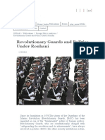 2016.8. Revolutionary Guards and Politics Under Rouhani