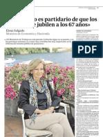 ex100905 entrevista a vicepresidenta elena salgado y comisario joaquín almunia
