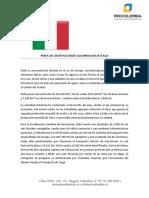 Perfil Logístico de Italia