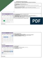 Calendário Metodista 2019
