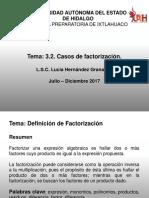 Factorizacion - Resumen