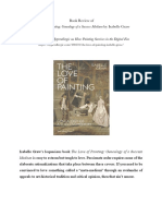 Book review of The Love of Painting
