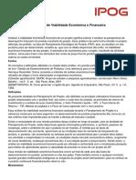 Conceitos_Analise Da Viabilidade Economica Financeira de Projetos