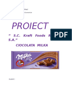 SC Kraft Foods Romania SA - Ciocolata Milka