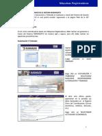 Manual de Máquinas Registradoras