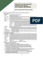 Formulir Rekomendasi SIPA - Industri PBF