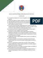 Bases de Competencia Torneo Futsal 2018