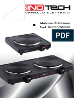 Fornello Elettrico Singolo GD037