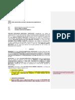 Demanda Ejecutiva Menor Cuantía - Letra de Cambio